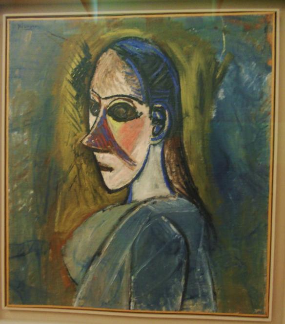 DSCN0748 Picasso buste de femme 1907
