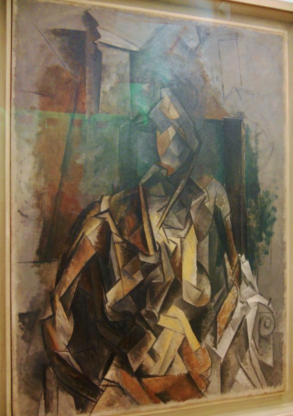 DSCN0750 Picasso Femme assise dans un Fauteuil 1910