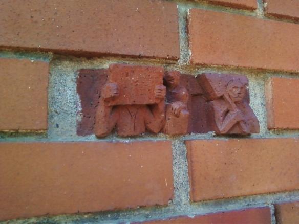 Artistic Brick, architectural detail, Coeur d'Alene